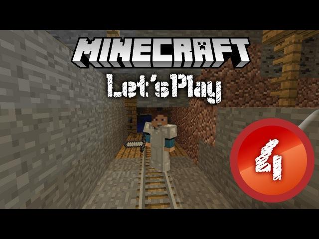 Minecraft классический 4 Заброшенная шахта