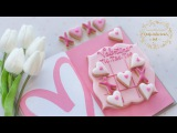 How to make VALENTINE TIC.TAC.TOE cookies