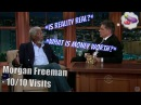 Morgan Freeman Geoff Does An Impression Of Him FOR Him 10 10 Visits In Chron Order