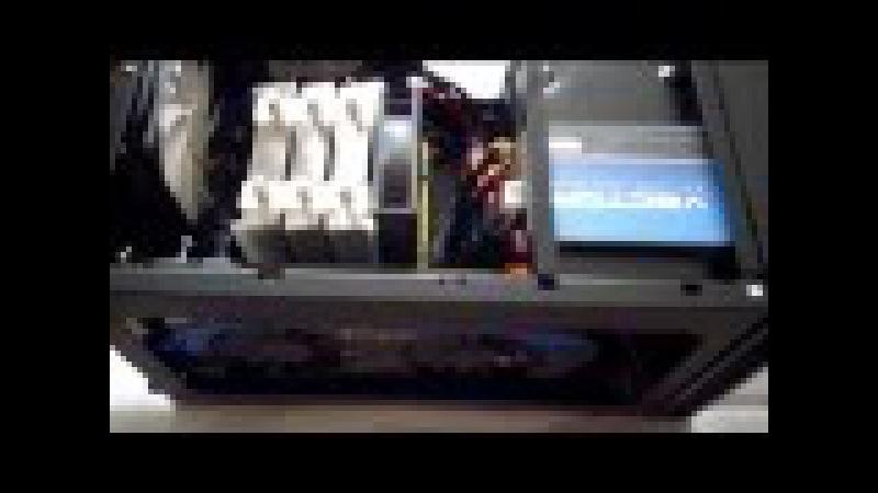 Сборка мощного игрового mini-ITX компьютера i7 4770к в Antec ISK600