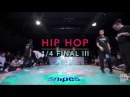 JD Germany 2018 HipHop 1 4 Final Lawless Crew Chakir Law Liri vs The Flooridians Hans B A