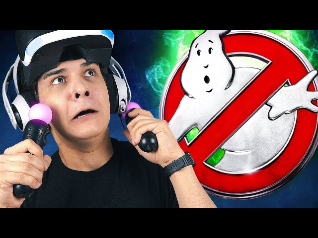 ОХОТНИКИ ЗА ПРИВИДЕНИЯМИ в PlayStation VR! (2)