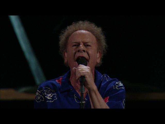 Bridge Over Troubled Water - Simon Garfunkel Madison Square Garden, New York October 2009 HD