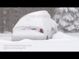 Lacona, NY Extremely Deep Lake Effect Snow - 11/21/2016