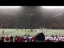 Michigan vs Indiana- Power football in the snow