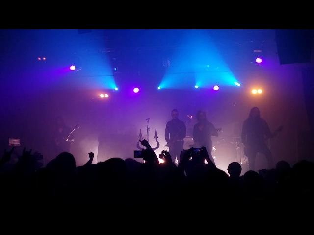 Satyricon - The Pentagram buns live Bologna 07/10/2017