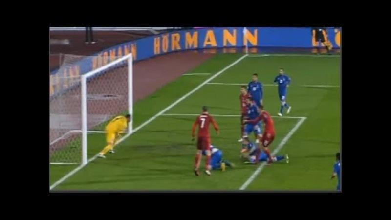Czech Republic - Azerbaijan 0-0 Goals Highlights 11/10/2016