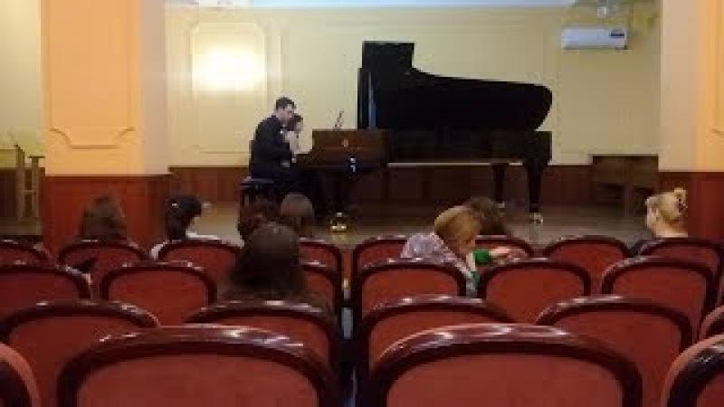 А. Светличный Концертино для двух фортепиано