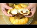 Постные дрожжевые рогалики с повидлом вареньем 🔴Тесто на воде и без яиц
