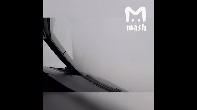 Mash: Короткое видео о том, как сейчас посадить самолёт в аэропорту в Москве - В...