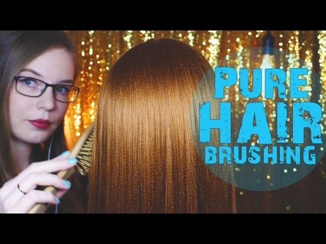 Hair Play and Brushing, Golden Edition 💤 Dummyhead Colette 💤 NO TALKING 💤 Binaural HD ASMR