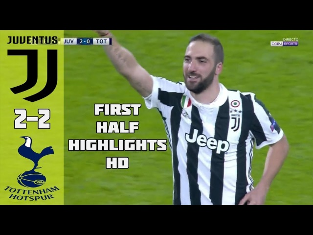 Juventus vs Tottenham 2 2 All Goals Highlights UEFA Champions League 13 02 2018 HD