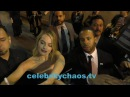 Margot Robbie causes autographer frenzy while signing autographs