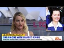 Margot Robbie One-On-One in Australia (And Rare Pic When She Was a Brunette) (2018)