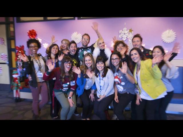 Gwen Stefani's Holiday Sing-Along at Children's Hospital Los Angeles
