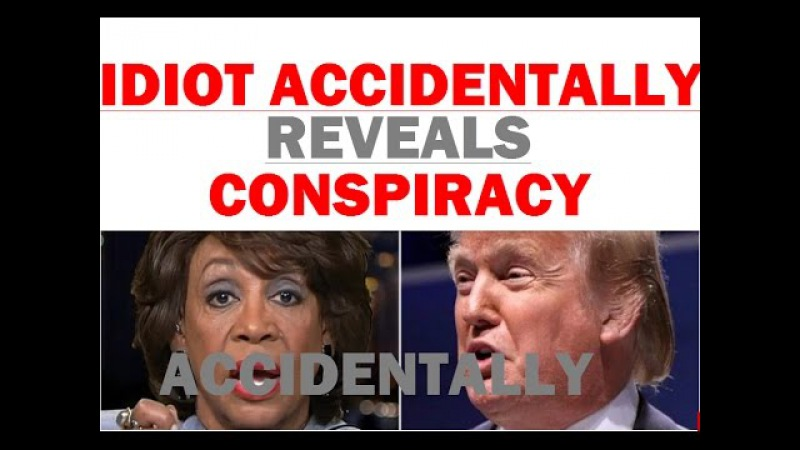 Maxine Waters ACCIDENTALLY Reveals Trump Conspiracy