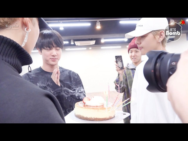 [BANGTAN BOMB] Jin's Surprise Birthday Party - BTS