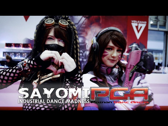 Poznan Game Arena 2017 Industrial Dance Madness by Sayomi [ COSPLAY Music Video ]
