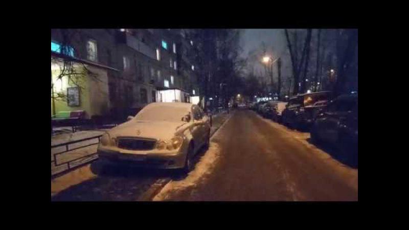 Продолжается стоянка на тротуаре по Сталеваров 12-2 VID 20180117 193439
