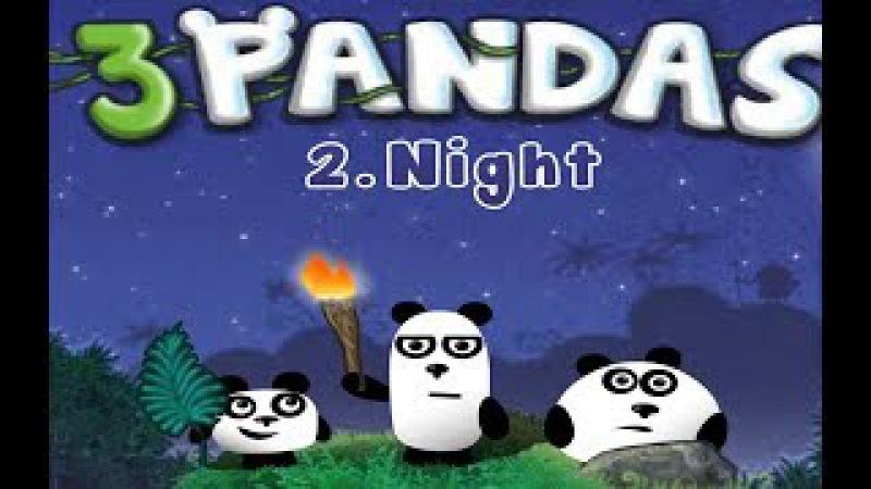3 ПАНДЫ мультфильм: НОЧНОЕ ПРИКЛЮЧЕНИЕ. 2 серия. 3 Pandas. Night
