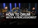 Gábor Dörnyei Kornél Horváth tHUNder Duo - How To Drum With a Percussionist