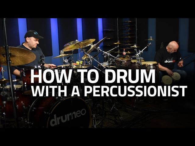 Gábor Dörnyei Kornél Horváth (tHUNder Duo) - How To Drum With a Percussionist