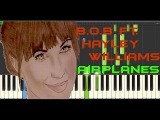 B o B ft Hayley Williams Airplanes piano tutorial