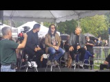 Rush Geddy Lee &amp Alex Lifeson at Opening of Lee Lifeson Art Park
