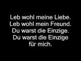 James Blunt-Gooodbye my lover german Lyrics