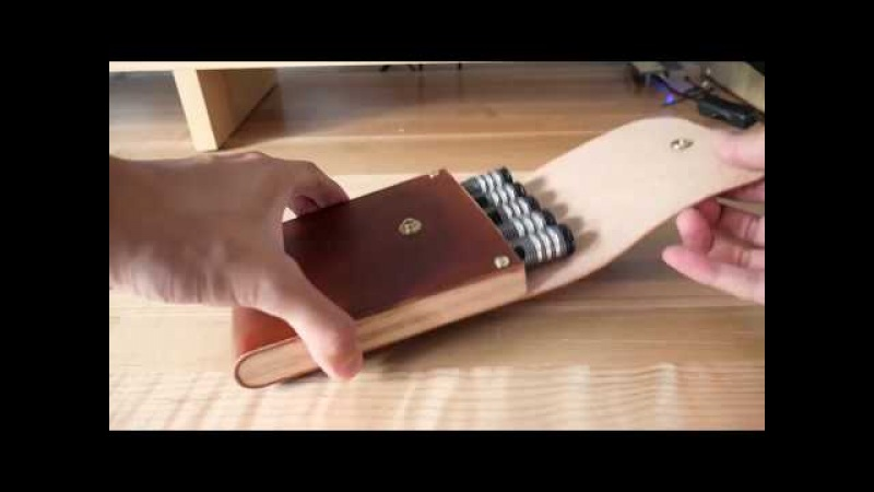 Making a Leather Tool Case