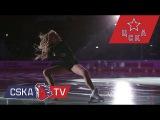 Елена Радионова и Дмитрий Певцов - открытие матча памяти Валерия Харламова (полная версия)