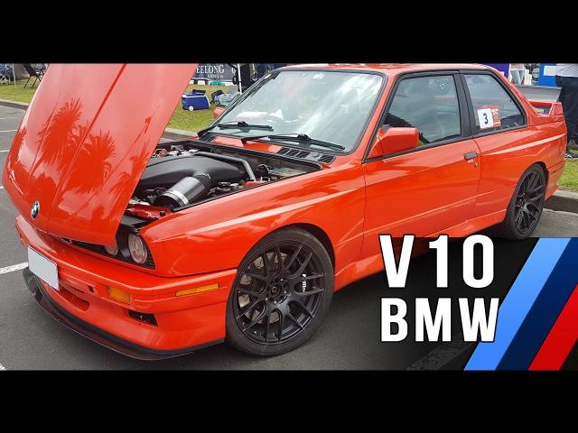 V10 BMW E30 M3 | raw sound