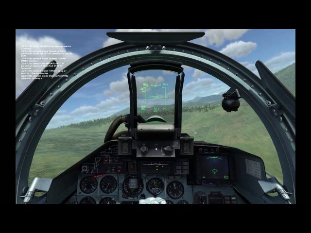 групповой бой на Су-27: DCS World [online server]