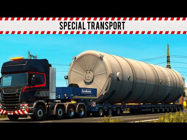 Euro Truck Simulator 2 Special Transport DLC