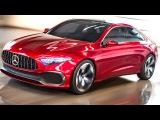 New Mercedes Concept A 2018 First Commercial New Mercedes A  B  C Class Design CARJAM TV HD