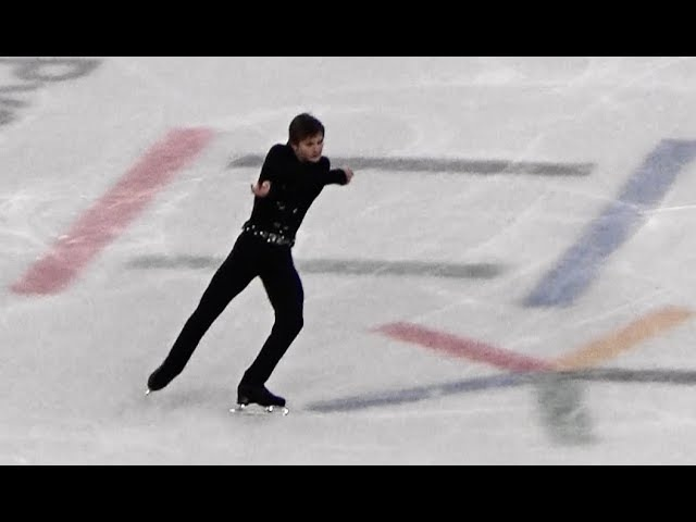 2018 平昌 PyeongChang フィギュアスケート団体 男子シングルス フリー Mikhail Kolyda