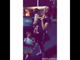 Dinah is such a good babysitter...)