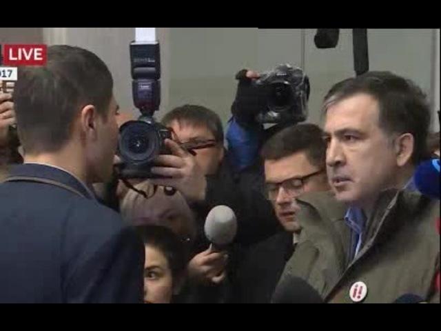 Саакашвили: заткнитесь и послушайте моего адвоката coub