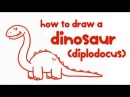 How to Draw a Dinosaur Step By Step Guide Learn Drawing for Kids Kid Education by Mocomi Kids