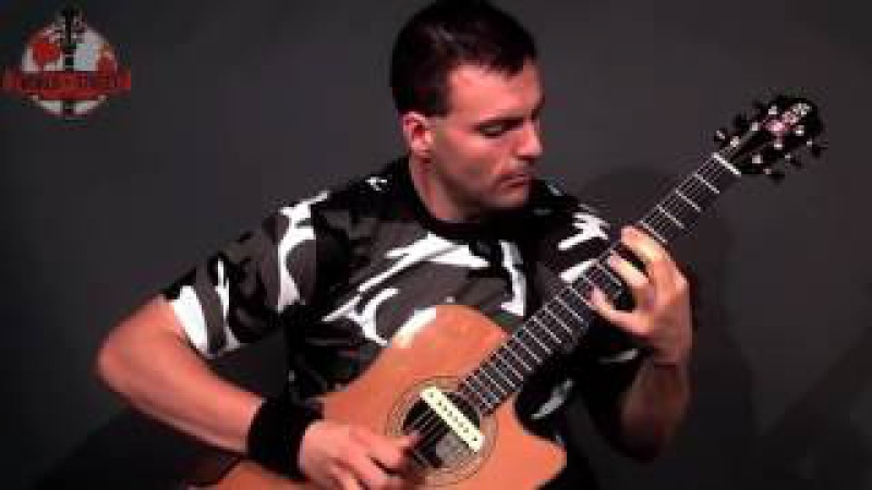 Incredible Performance By - Ewan Dobson - The Techno Guitarist - The Legend Of The Brown Goat! HD