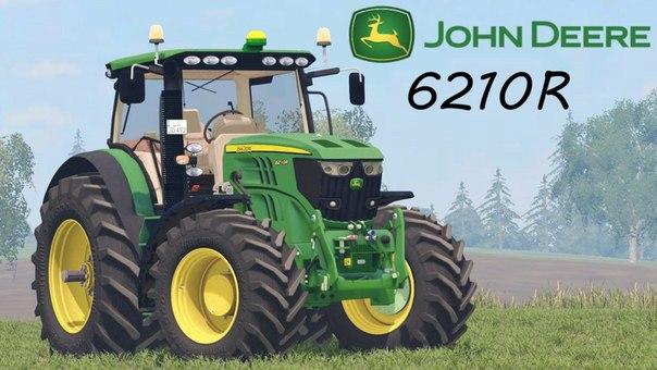 Трактор JOHN DEERE 6210R