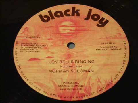 Norman Slolman Joy Bells Ringing Black Joy 12 Inch DJ J ROOTS