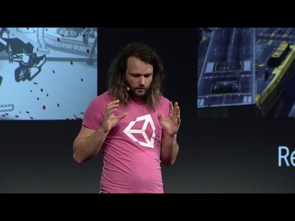 Unity at GDC keynote - The future of Unity (Entity Component System Performance) w. Joachim Ante
