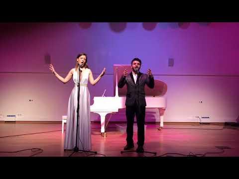 Сon te partiro - Заали Саркисян и Наталья Герасимова (ГОЛОС 6)