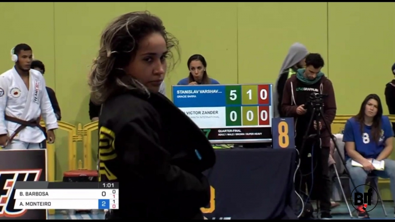 Amanda Monteiro vs Bianca Basilio IBJJFEURO18