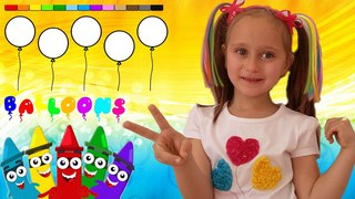 Learn Colors With Melissa Цвета на Английском языке для Детей Nursery Rhymes Baby songs for Children