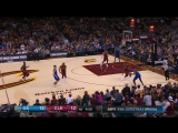 LeBron James  Kevin Durant Slam Dunk Duel - Warriors vs Cavaliers - December 25, 2016-17 NBA Season