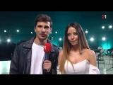 Интервью «Время и Стекло» со съёмок клипа «К звёздам» (M1 Music Awards News  от 09/02/18)