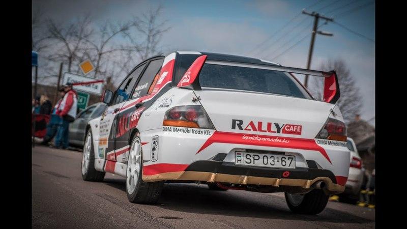 Maricsek-Bán Mitsubishi E9 Credobus Eger Rallye 2018.