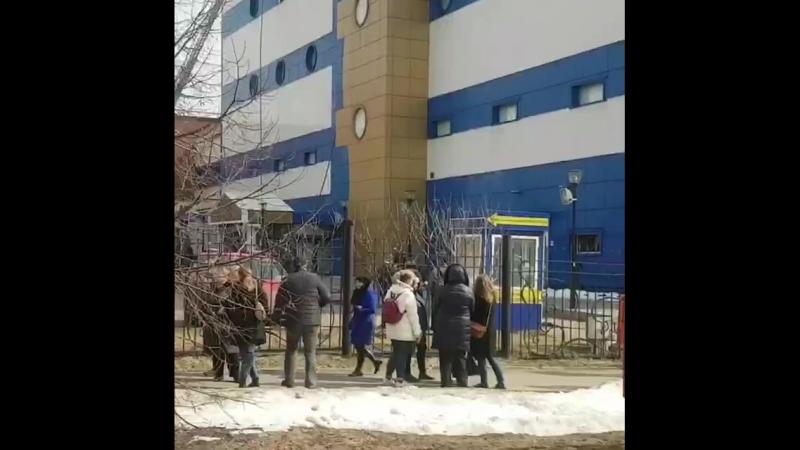 Пожар в ТЦ Персей для детей на Семёновской
